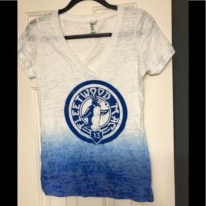 Fleetwood Mac band concert tour shirt 2013 L